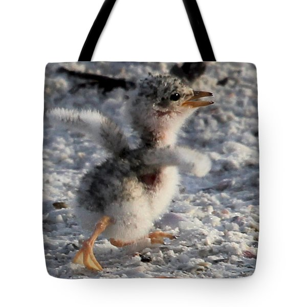 Running Free - Least Tern Tote Bag