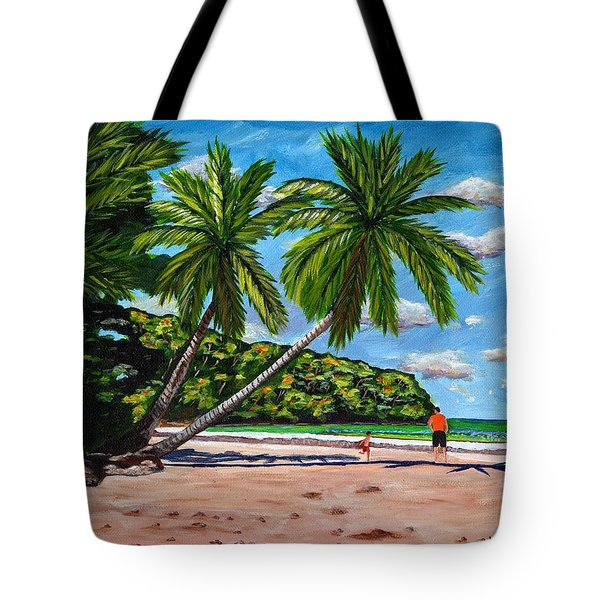 Running Tote Bag by Laura Forde