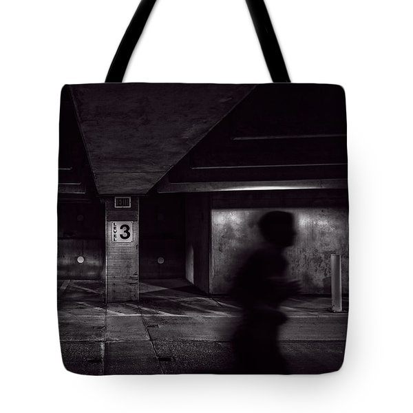 Running Level Three Night People Tote Bag by Bob Orsillo