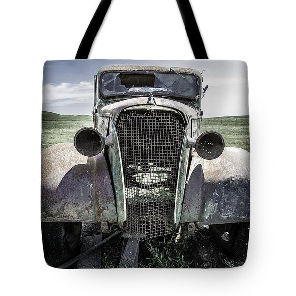 Running On Empty Tote Bag