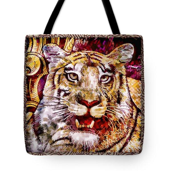 Rupee Tiger Tote Bag