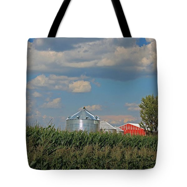 Rural Indiana Scene - Adams County Tote Bag by Suzanne Gaff