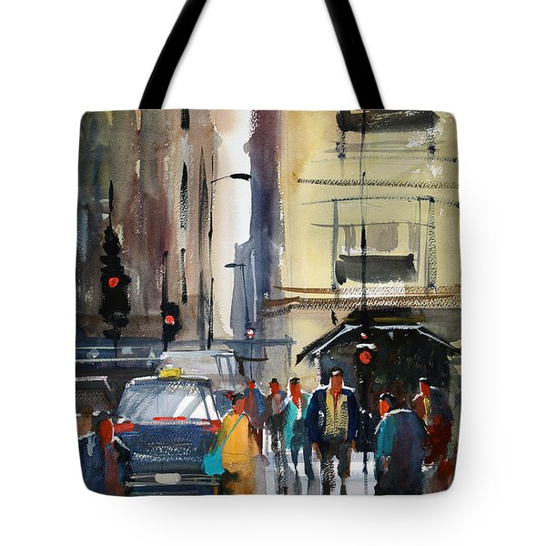 Rush Hour 2 - Chicago Tote Bag