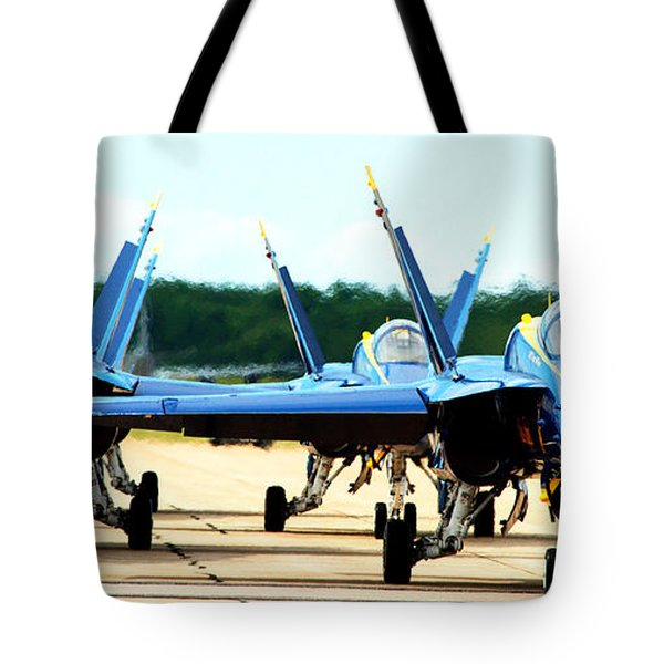 Rush Hour For Angels Tote Bag