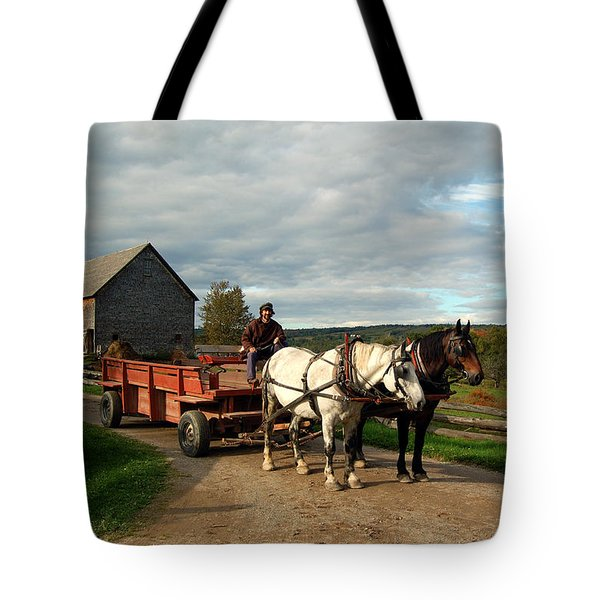 Rush Hour Tote Bag by Ron Haist