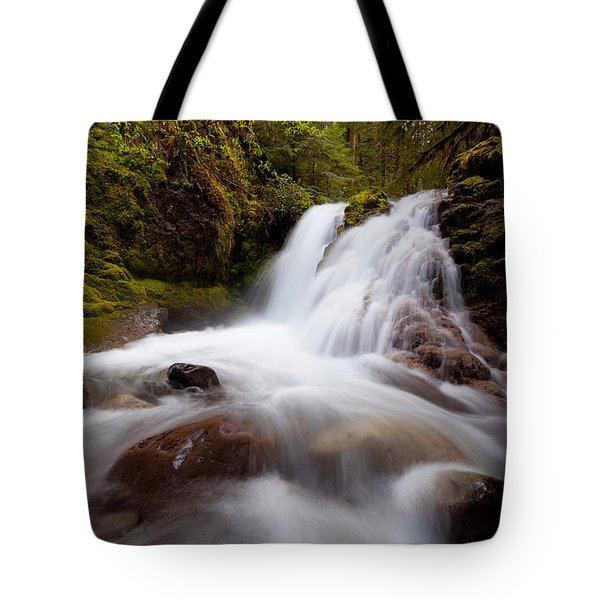 Rushing Cascades Tote Bag