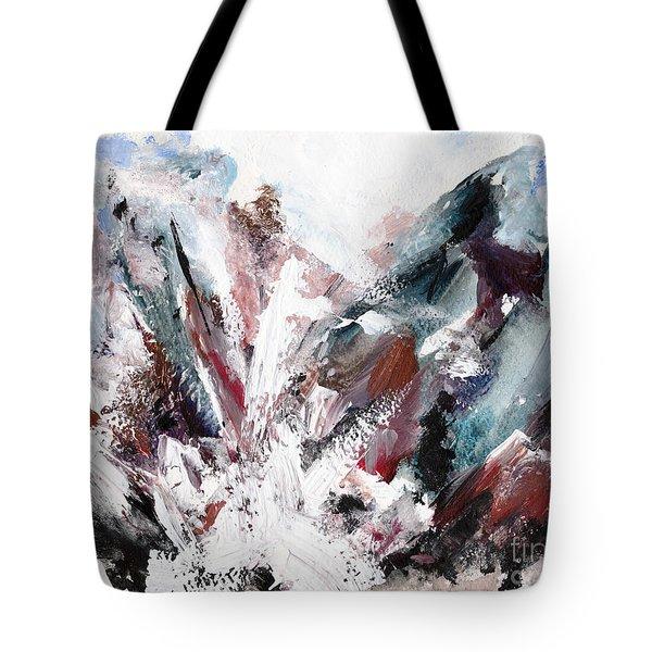 Rushing Down The Cliff Tote Bag by Lidija Ivanek - SiLa
