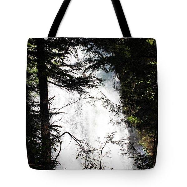 Rushing Through The Trees Tote Bag