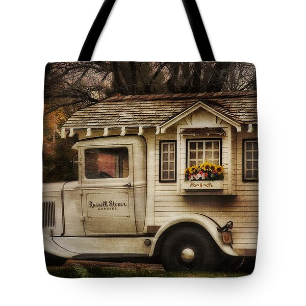 Russell Stover Candies Tote Bag by Joan Bertucci
