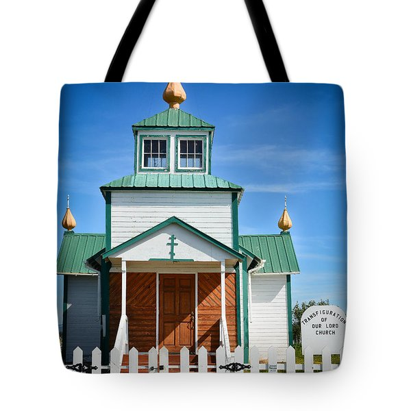 Russian Orthodox Church Tote Bag