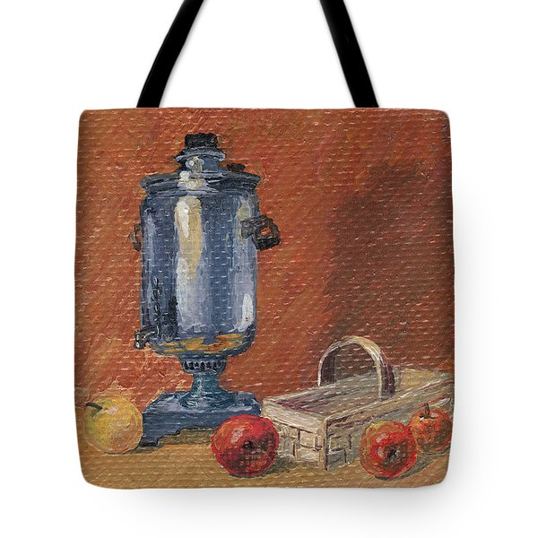 Russian Style Tote Bag