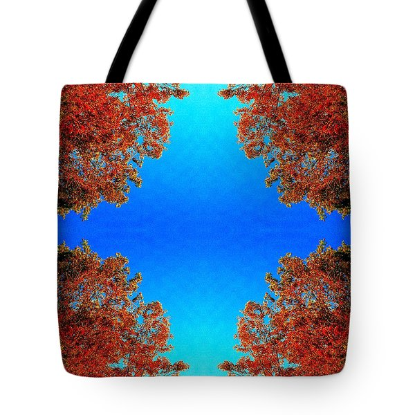 Tote Bag featuring the photograph Rust And Sky 1 - Abstract Art Photo by Marianne Dow