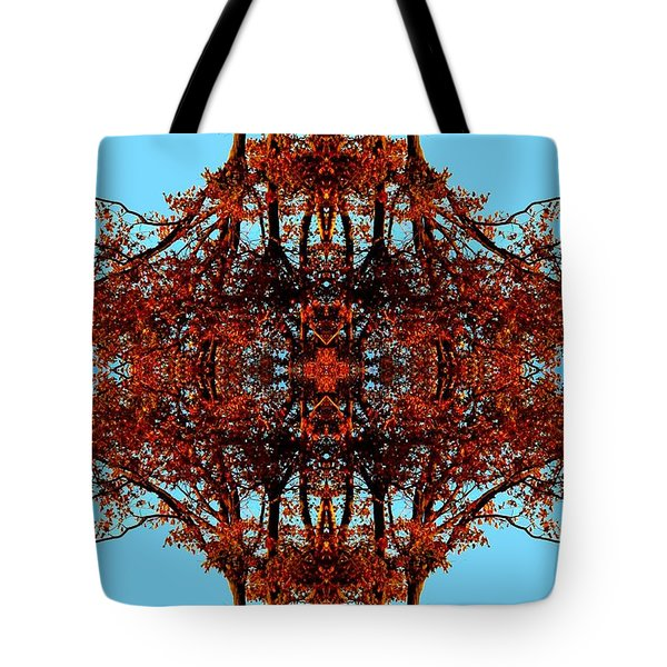 Tote Bag featuring the photograph Rust And Sky 3 - Abstract Art Photo by Marianne Dow