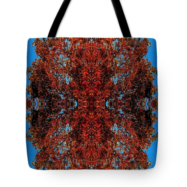 Tote Bag featuring the photograph Rust And Sky 5 - Abstract Art Photo by Marianne Dow