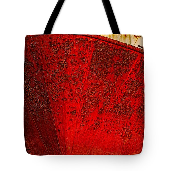 Rust Bucket Tote Bag