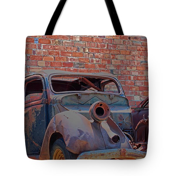 Tote Bag featuring the photograph Rust In Goodland by Lynn Sprowl