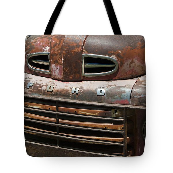 Rusted Ford In Hackberry Tote Bag