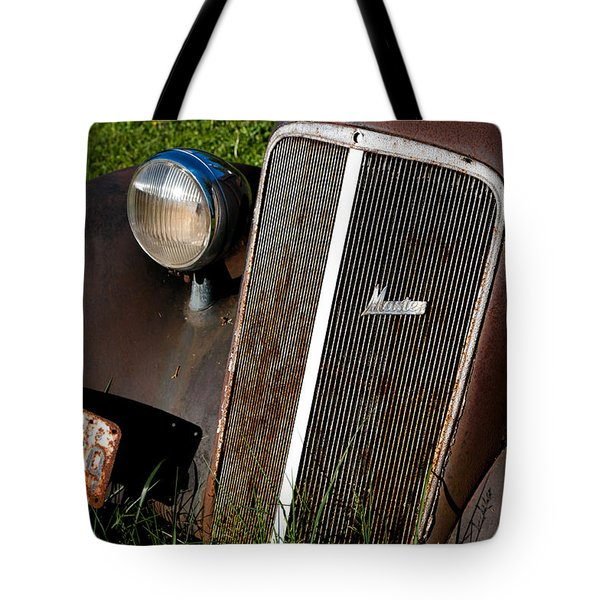 Rusted Master Tote Bag