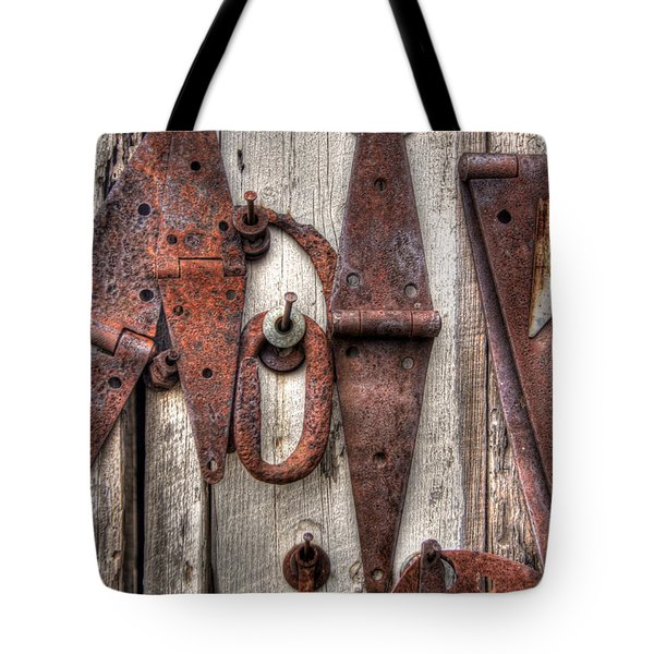 Rusted Past Tote Bag by Benanne Stiens