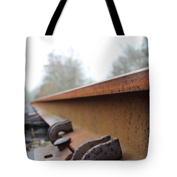 Rusted Track Tote Bag