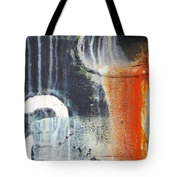 Rusted Waterfall Tote Bag by Jani Freimann