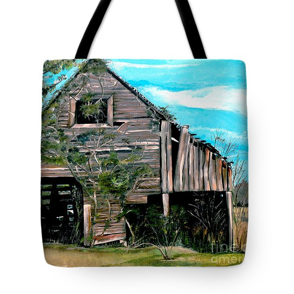 Rustic Barn - Mooresburg - Tennessee Tote Bag by Jan Dappen