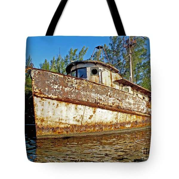 Rustic Tote Bag by Carey Chen