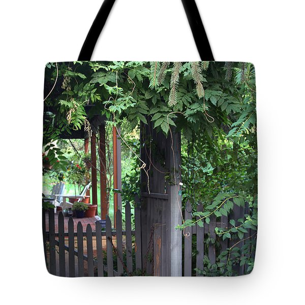 Rustic Charm Tote Bag by Yvonne Wright