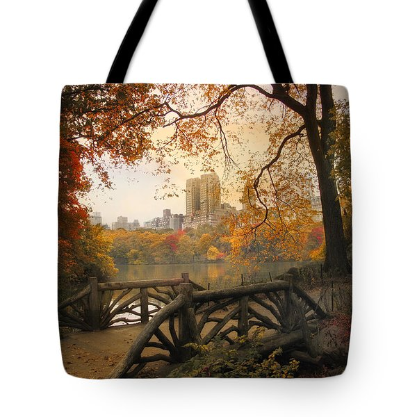 Tote Bag featuring the photograph Rustic City View by Jessica Jenney