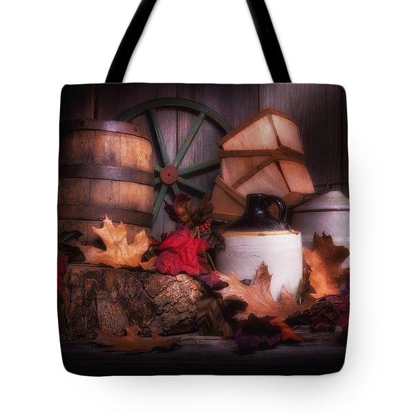 Rustic Fall Still Life Tote Bag