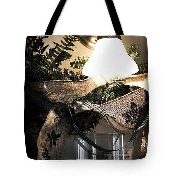 Rustic Holiday Tote Bag by Patricia Babbitt