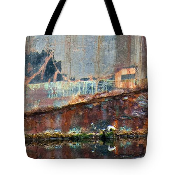Tote Bag featuring the photograph Rustic Hull by Jani Freimann