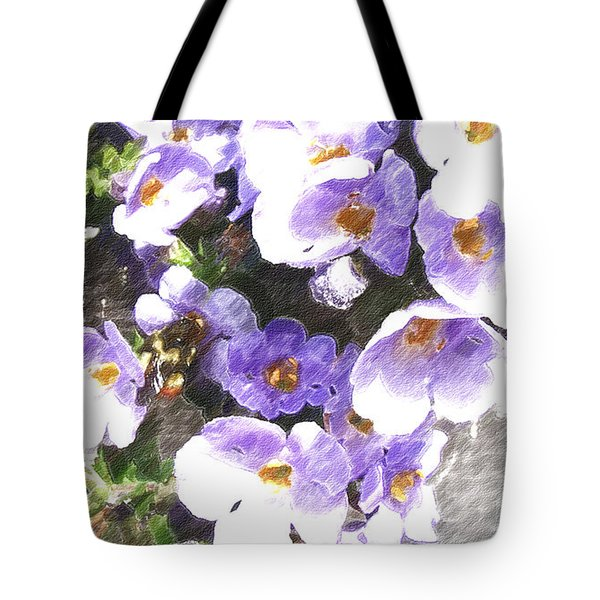 Rustic Planter Box Tote Bag by Beverly Guilliams
