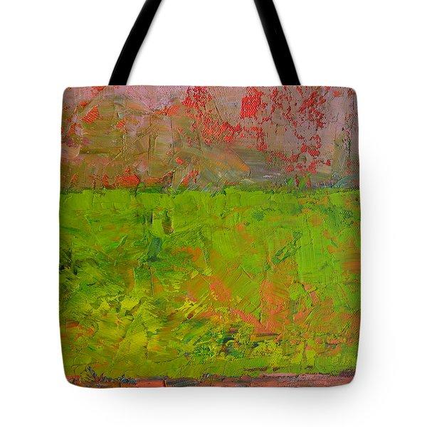 Rustic Roadside Series - Celery Flats Tote Bag