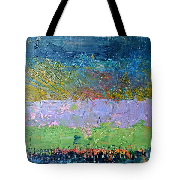 Rustic Roadside Series - Lilac Bushes Tote Bag