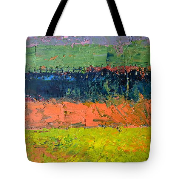 Rustic Roadside Series - Pond Tote Bag