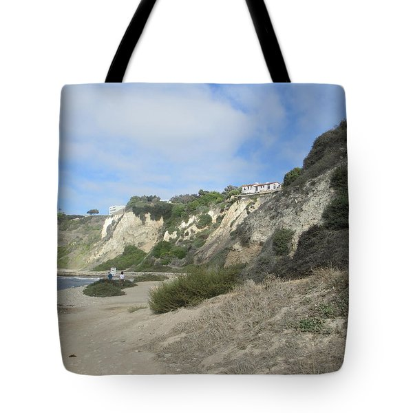 Rustic Shoreline Tote Bag