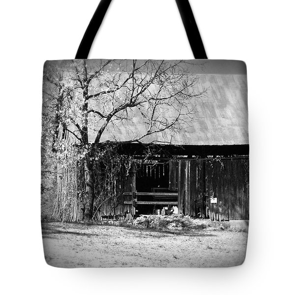 Rustic Tennessee Barn Tote Bag by Phil Perkins