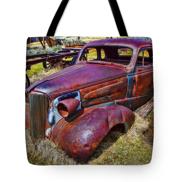 Rusting Away Auto Tote Bag