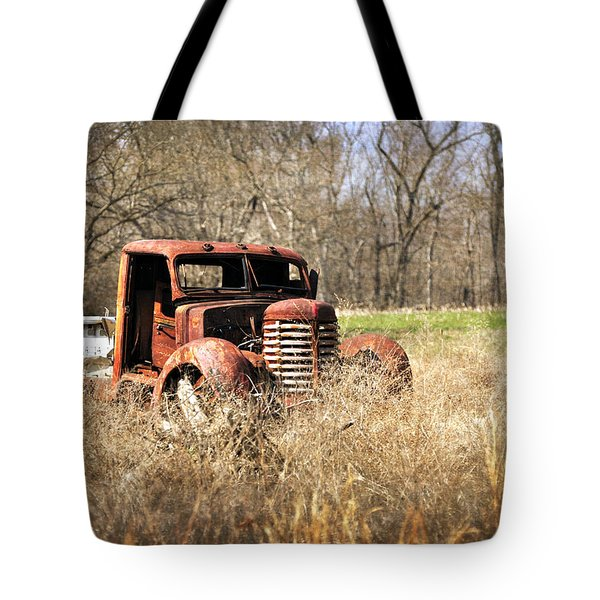 Rusting Away Tote Bag by Marty Koch
