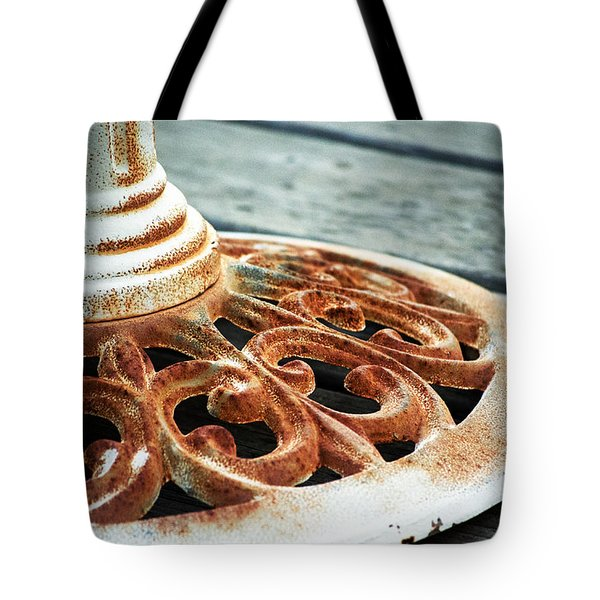Rusting On The Deck Tote Bag