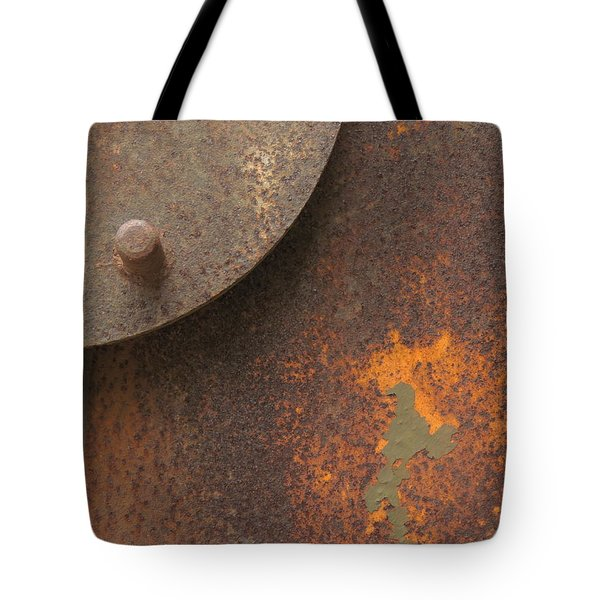 Rusty Abstraction Tote Bag