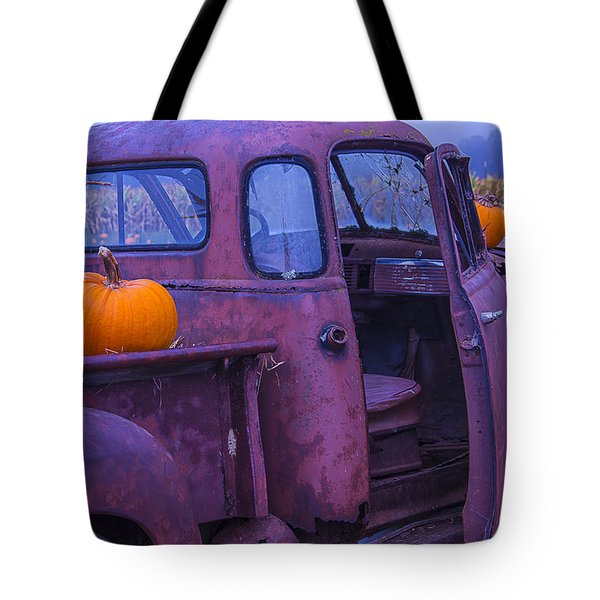 Rusty Autumn Tote Bag