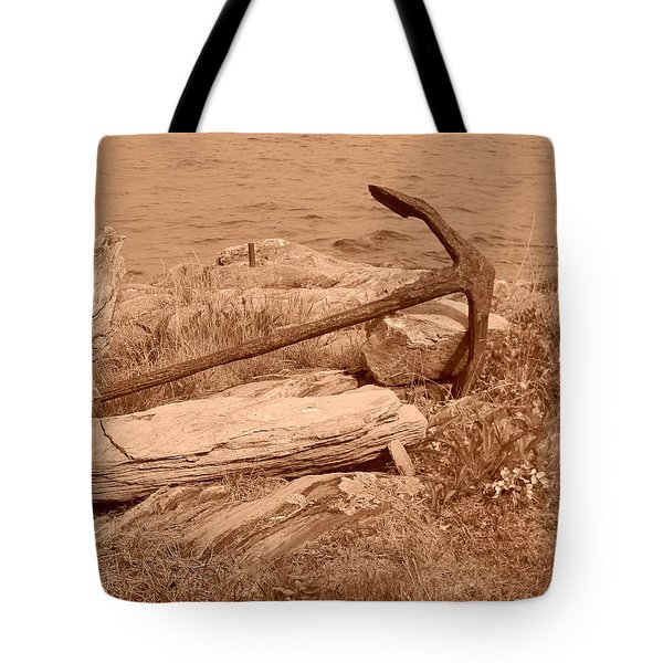 Rusty Tote Bag by Jean Goodwin Brooks