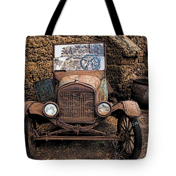 Rusty Ol' Ford II Tote Bag
