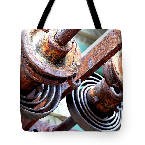 Rusty Relics Tote Bag by Charlie and Norma Brock