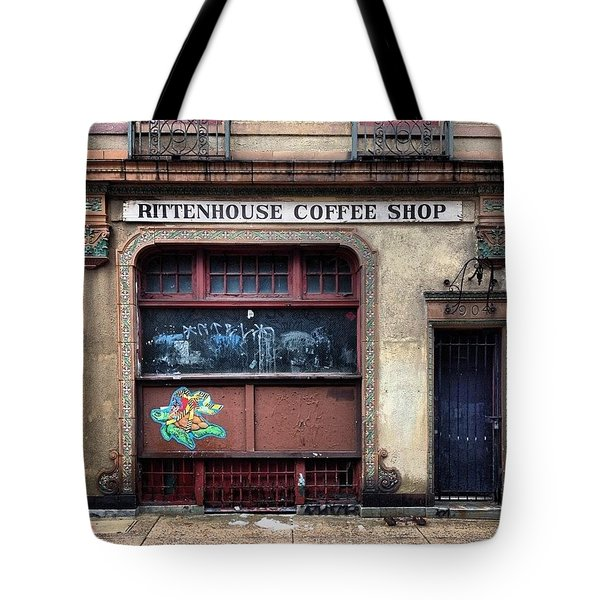 Rusty Rittenhouse Tote Bag by Katie Cupcakes