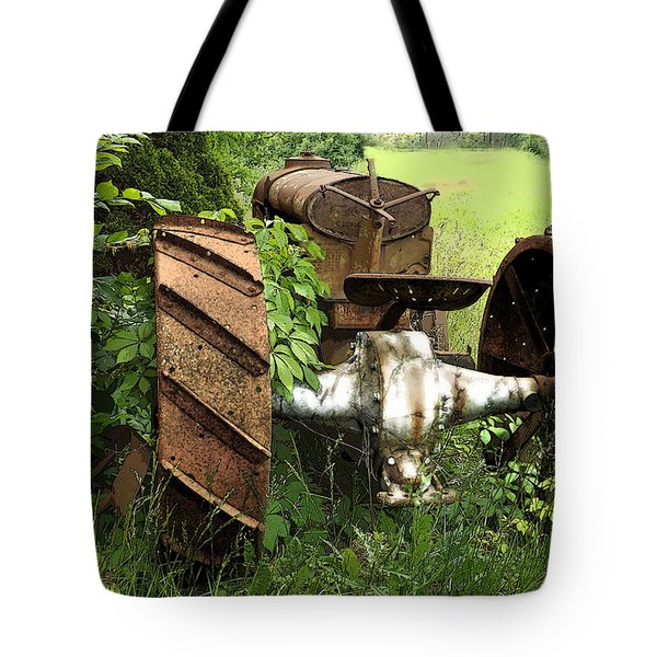 Rusty Tractor 1  Tote Bag