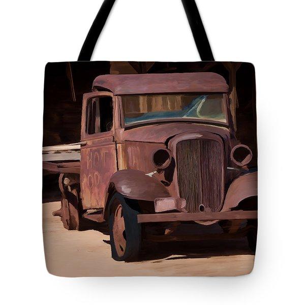 Rusty Truck 04 Tote Bag by Wally Hampton