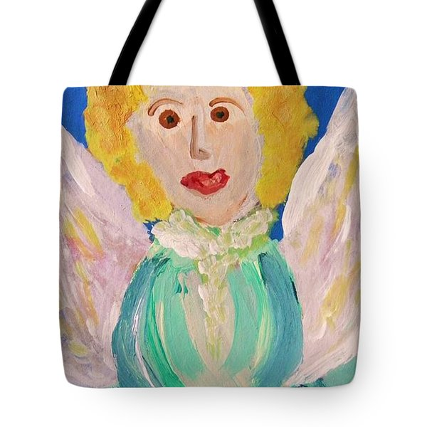 Ruth E. Angel Tote Bag by Mary Carol Williams